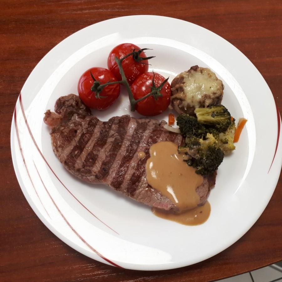 Steak quoi ?  Steak à point !